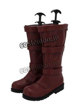 画像4: 僕のヒーローアカデミア 切島鋭児郎風 コスプレ靴 ブーツ
