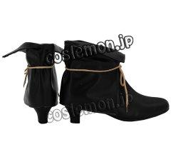 画像3: ニル・アドミラリの天秤 帝都幻惑綺譚風 コスプレ靴 ブーツ