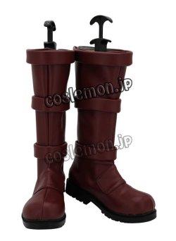 画像2: 僕のヒーローアカデミア 切島鋭児郎風 コスプレ靴 ブーツ