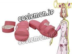 画像1: ジョジョの奇妙な冒険 杉本鈴美風 コスプレ靴 ブーツ