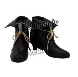 画像2: ニル・アドミラリの天秤 帝都幻惑綺譚風 コスプレ靴 ブーツ