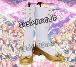 画像1: Love Live! ラブライブ! 風 コスプレ靴 ブーツ