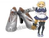 Fate/Grand Order フェイト・グランドオーダー ジャンヌ・ダルク オルタ風 02 コスプレ靴 ブーツ