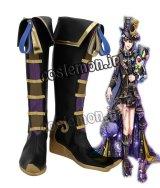 夢王国と眠れる100人の王子様風 コスプレ靴 ブーツ