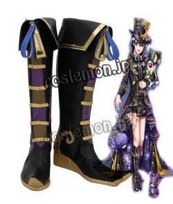 画像1: 夢王国と眠れる100人の王子様風 コスプレ靴 ブーツ