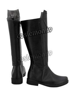 画像4: ソードアート・オンライン クライン風 コスプレ靴 ブーツ