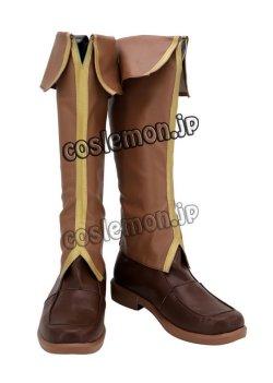 画像2: 英雄伝説 閃の軌跡3 リィン・シュバルツァー風 コスプレ靴 ブーツ
