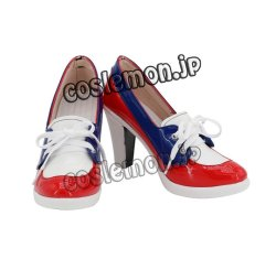 画像1: AKB0048 Everyday風 コスプレ靴 ブーツ