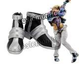 ジョジョの奇妙な冒険 戦闘潮流 シーザー・ツェペリ&ジョセフ・ジョースター風 ●コスプレ靴 ブーツ