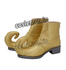 画像3: ジョジョの奇妙な冒険 第6部 ディオ・ブランドー風 Dio Brando ●コスプレ靴 ブーツ