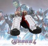 アベンジャーズ/インフィニティ・ウォー The Avengers トニー・ スターク風 Tony Stark Team Suit ●コスプレ靴 ブーツ