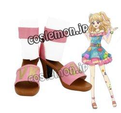画像1: アイカツ!アイドルカツドウ! 星光学園 夏樹みくる風 ●コスプレ靴 ブーツ