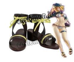 画像1: FateGrand Order FGO フェイト・グランドオーダー 主人公 水着風 ●コスプレ靴 ブーツ
