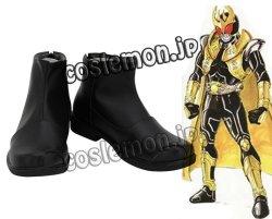 画像1: ヒーロー 仮面ライダークウガ風 ●コスプレ靴 ブーツ
