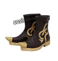 画像4: ファイナルファンタジーXIV FF14 サベネア風 ●コスプレ靴 ブーツ