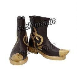 画像2: ファイナルファンタジーXIV FF14 サベネア風 ●コスプレ靴 ブーツ