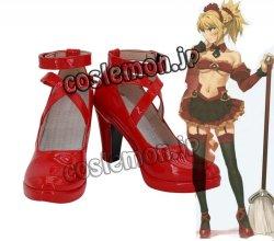 画像1: Fate/Grand Order フェイト・グランドオーダー モードレッド風 ●コスプレ靴 ブーツ