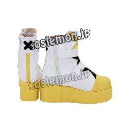 画像4: ピンキーポップヘップバーン Pinky Pop Hepburn 絆愛ゃん風 ●コスプレ靴 ブーツ