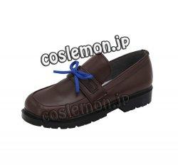 画像4: アズールレーン 花舞う季節の転校生 朝潮風 ●コスプレ靴 ブーツ