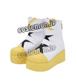 画像3: ピンキーポップヘップバーン Pinky Pop Hepburn 絆愛ゃん風 ●コスプレ靴 ブーツ