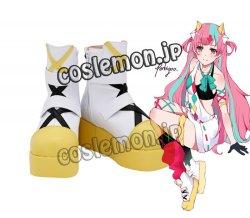 画像1: ピンキーポップヘップバーン Pinky Pop Hepburn 絆愛ゃん風 ●コスプレ靴 ブーツ