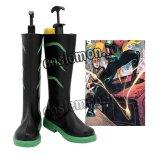 The Batman バットマン DC Tim Drake ティム・ドレイク 風 ●コスプレ靴 ブーツ