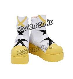 画像2: ピンキーポップヘップバーン Pinky Pop Hepburn 絆愛ゃん風 ●コスプレ靴 ブーツ