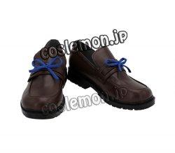 画像2: アズールレーン 花舞う季節の転校生 朝潮風 ●コスプレ靴 ブーツ