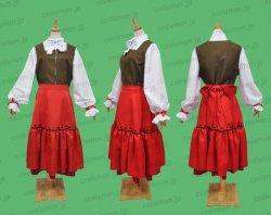 画像1: Axis Powers ヘタリア ハンガリー 民族衣装風 ●コスプレ衣装