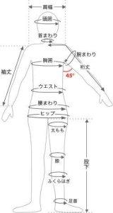 ヌードサイズの測り方