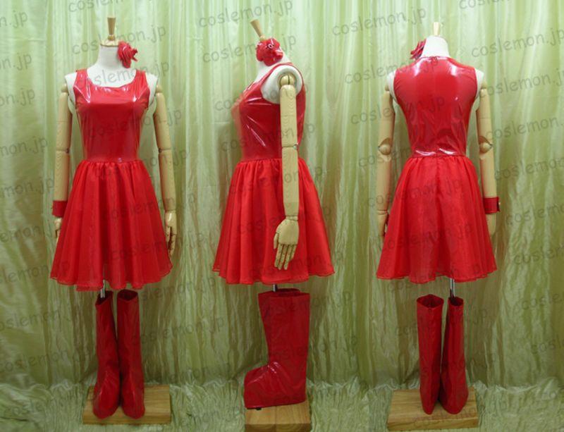 芸能人衣装特売★ 浜崎あゆみ 浜崎あゆみ風 舞台 ライブ 赤ドレス ●コスプレ衣装
